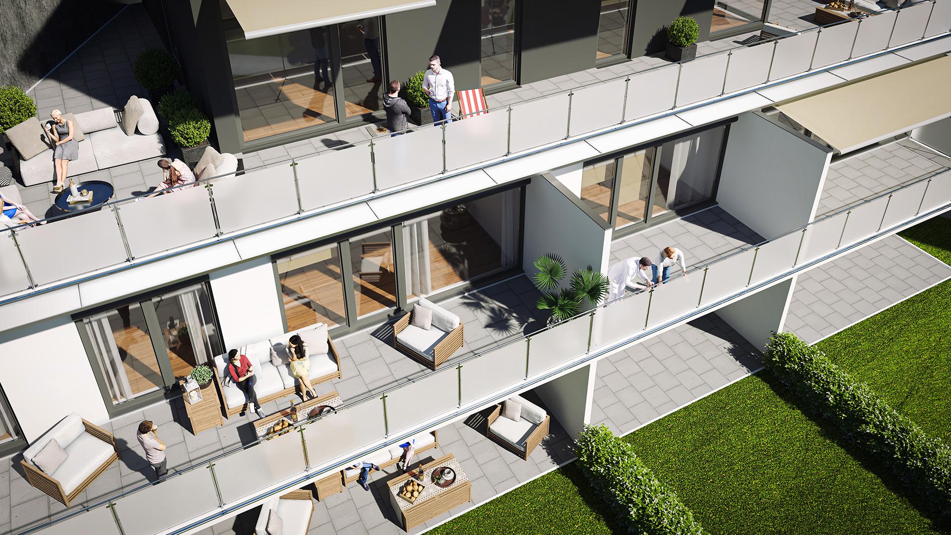 Terrassen Staufer