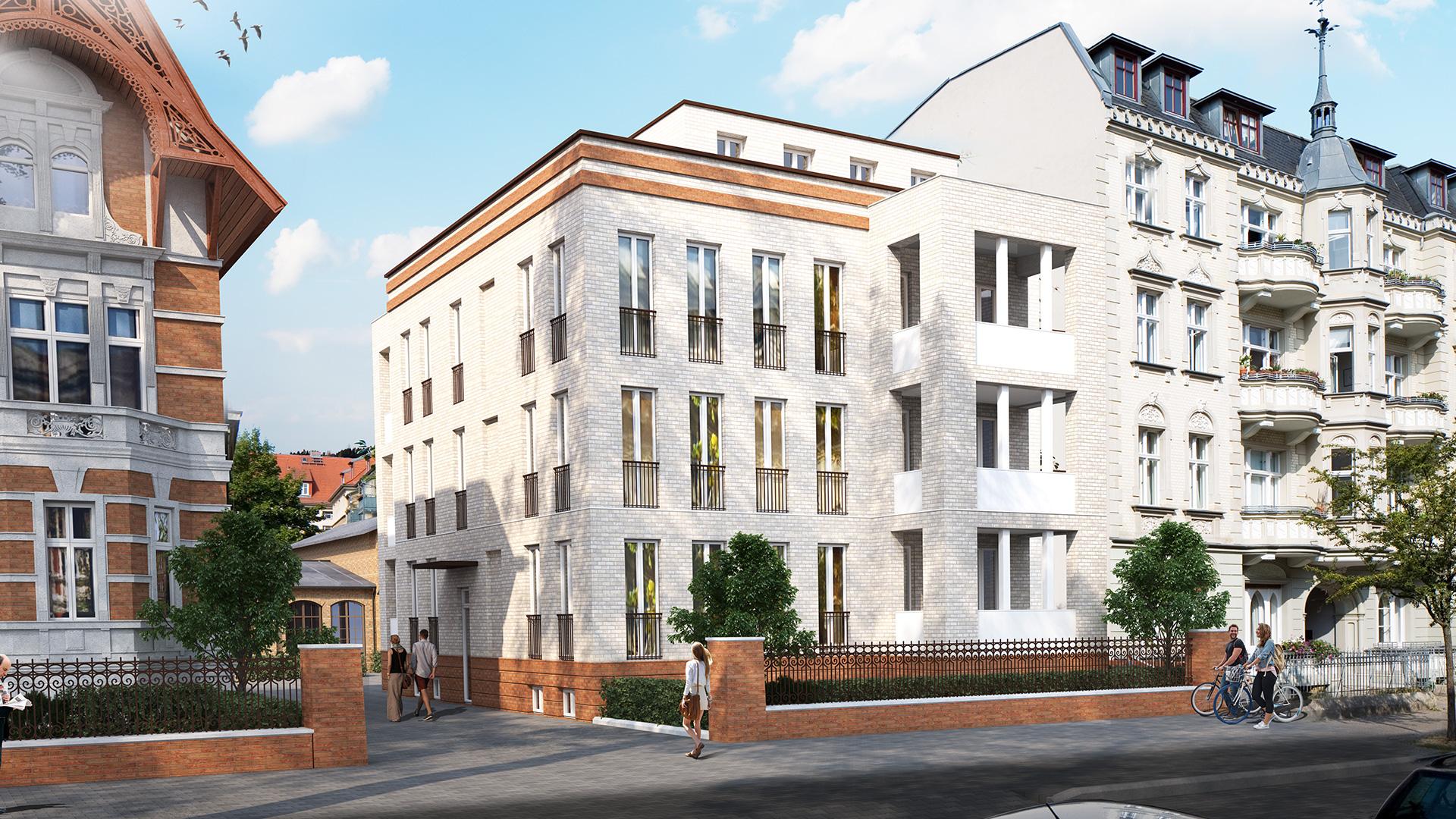 CVO36 Neubau Straßenansicht